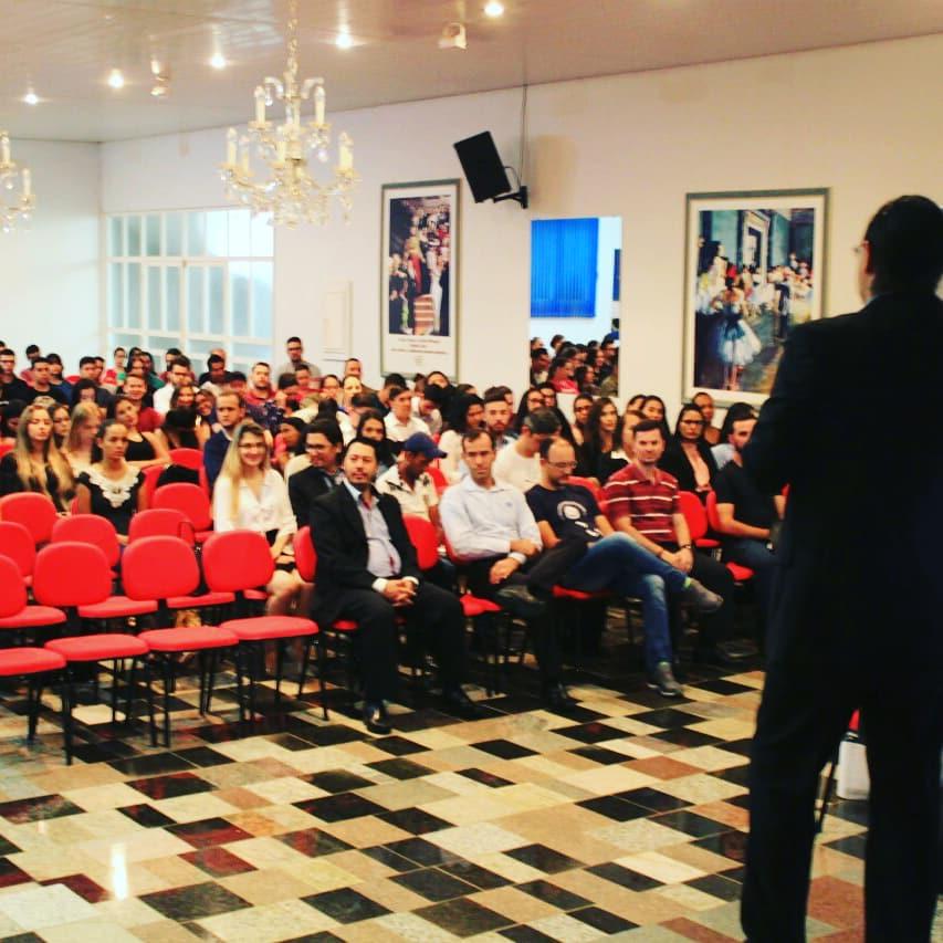 palestra - Rodrigo Alves Correia