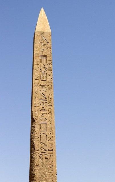 Obelisco de Hatshepsut - Templo de Amon-Ra em Karnak - Egito