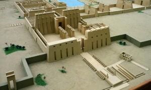 templo de karnak - reprodução digital