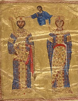 Maria Bagrationi e Nicéforo III Botaniates
