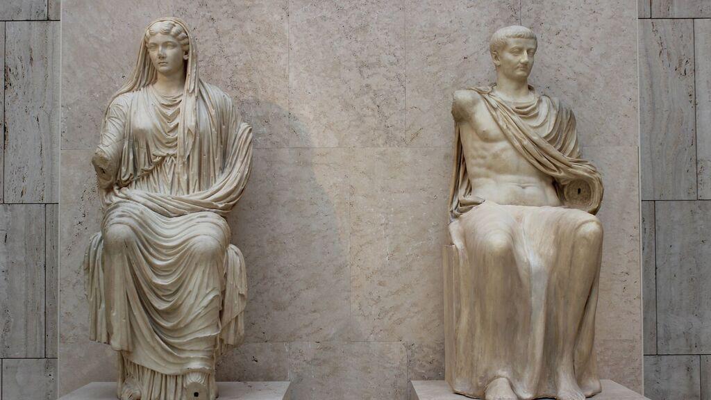 Livia Drusilla e Augusto
