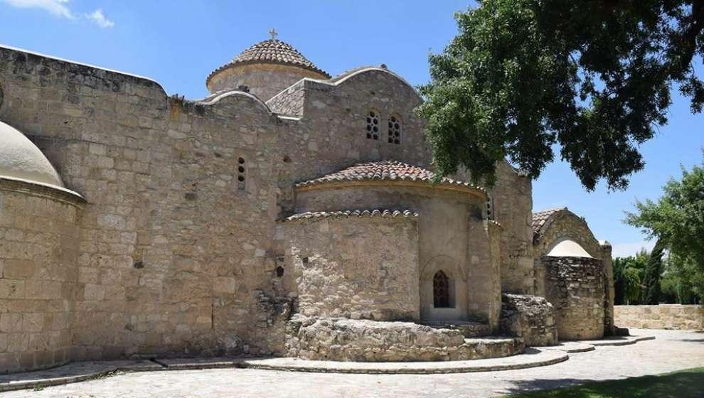Panagia Angeloktisti igreja bizantina do Séc. XI, localizada na vila de Cítio.