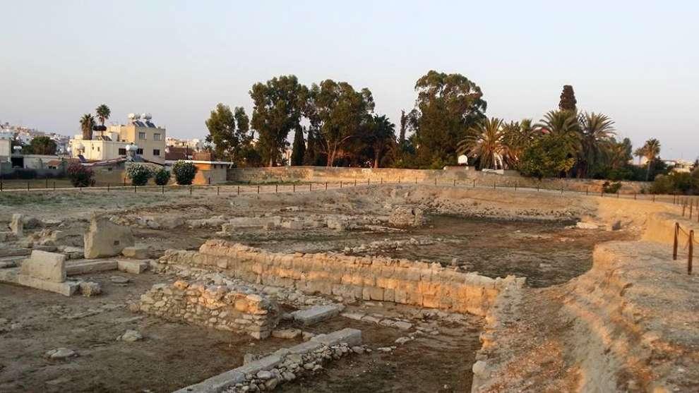 Sítio arqueológico em Cítio, Cidade de origem de Zenão, pai do Estoicismo