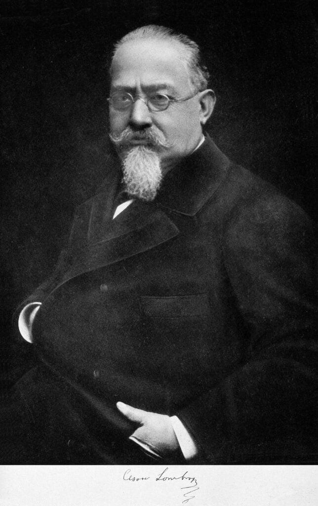 """""""Cesare Lombroso signed"""" Canalhas da filosofia - o filósofo mais canalha"""