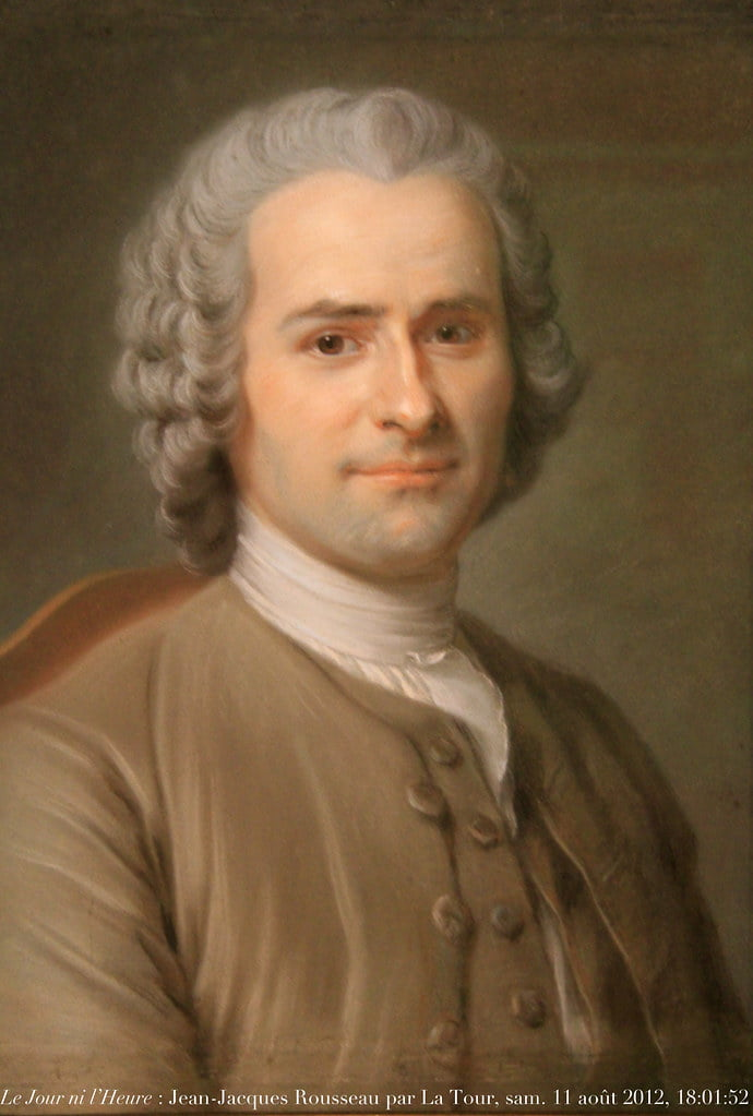 """""""Le Jour ni l'Heure 7328 : Jean-Jacques Rousseau, Citoyen de Genève"""